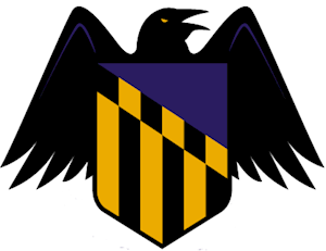 Baltimore Ravens alternate logo for NFL bets