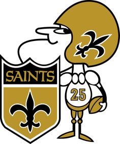 New Orleans Saints alternate logo NFL bets