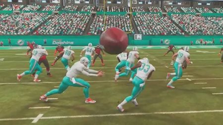 Madden glitches are awesome