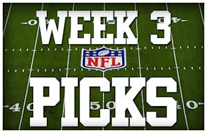 Picks for NFL week 3 Super Contest