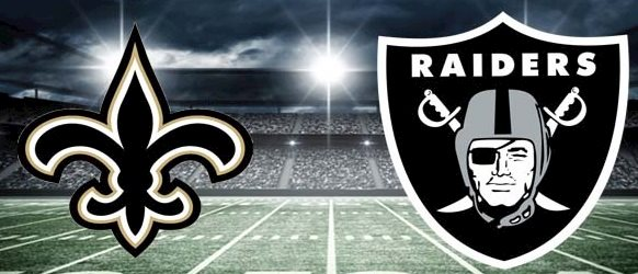 Betting Saints vs Raiders on MNF