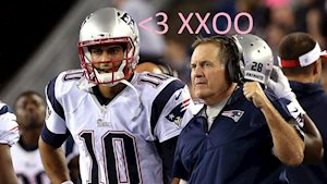 Odds on Belichick and Garoppolo?
